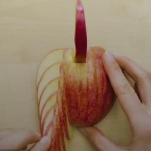 苹果的最新吃法你知道吗、没有试过的可以来试试