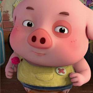 豆豆猪我没胖是只是瘦的不明显