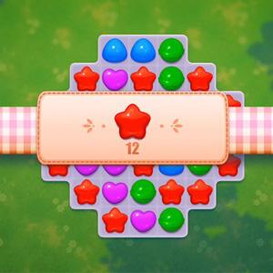 城镇故事比赛3拼图(Town story Match 3 puzzle)试玩