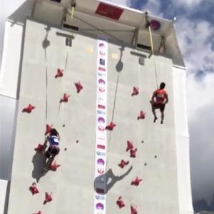 帅炸了!2018年法国攀岩世界杯上,他打破欧美对攀岩运动30年垄断~