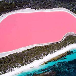 带你去看浪漫的玫瑰湖