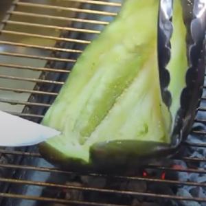 烤茄子的家常做法 简单又好吃