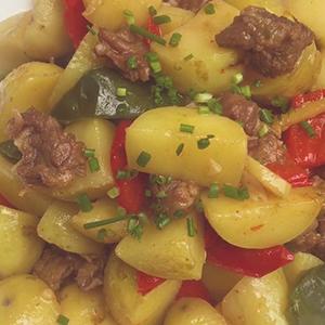 好吃又下饭的土豆烧牛肉