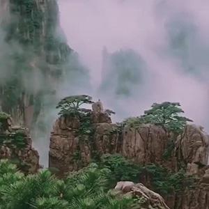 人间仙境,仿佛一幅中国水墨画