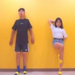 一个韩国很火的减肥舞蹈