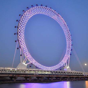 """中国又一项超级工程—世界第一的""""渤海之眼""""摩天轮了解一下"""