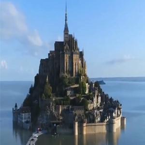 童话中的城堡—法国圣米歇尔山城堡