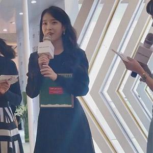 IU李知恩现身北京参加CNP中国品牌首发活动