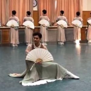 北京舞蹈学院《纸扇书生》舞蹈视频完整版