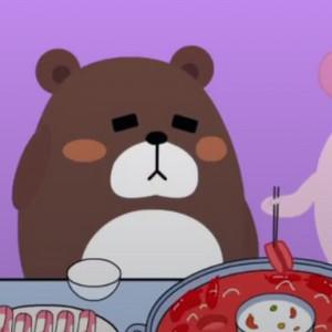 糊糊熊和女友吵架视频 真是超委屈了