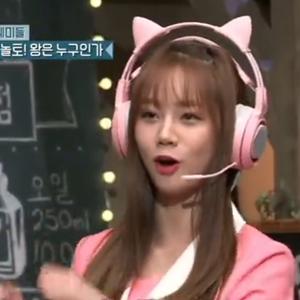 韩综惊人的星期六 惠利表演《学猫叫》