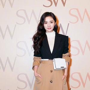 杨幂跳舞视频 杨幂SW品牌发布会现场跳舞
