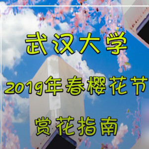 2019武汉大学赏樱花指南攻略视频