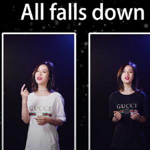 抖音史小文中英文双声道版《All Falls Down》演唱视频