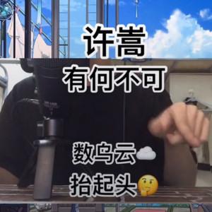 抖音许蔚旻《有何不可》演唱视频