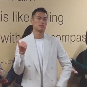 杨祐宁跳咖喱咖喱广场舞视频