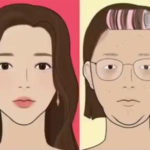 动画演示女生的化妆步骤