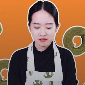 抖音爱做饭的千千抹茶年轮蛋糕做法视频