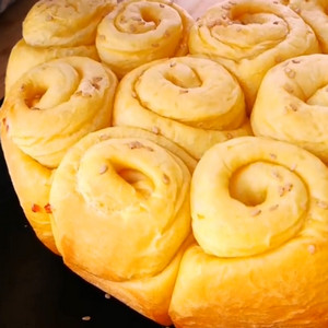 小颖美食之红薯蜂蜜面包做法视频