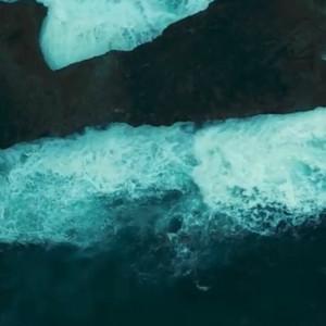 航拍夏威夷拉耶美景视频